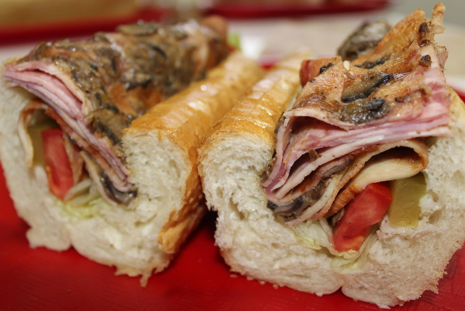 ساندویچ ژامبون تنوری